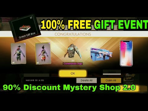 HOW TO REDEEM CODE FREE LUNAR EVENTS! GET 90% DISCOUNT MYSTERY SHOP! -  Garena Free Fire 2019