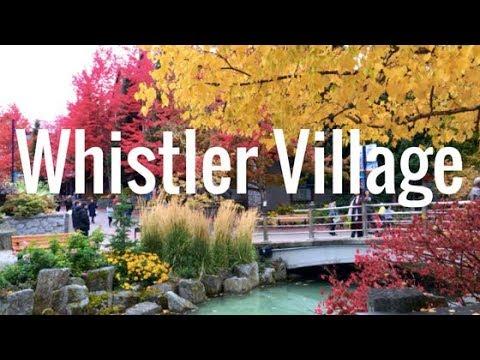 WHISTLER VILLAGE   British Columbia, Canada