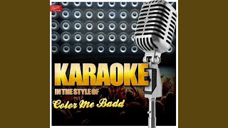 I Adore Mi Amor (In the Style of Color Me Badd) (Karaoke Version)