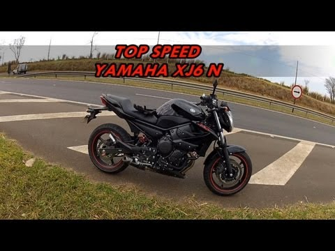 YAMAHA XJ6 N - TOP SPEED (HD)