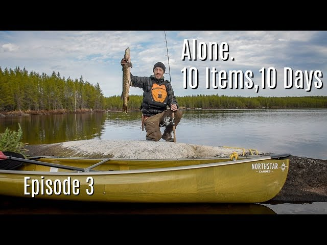 Finding the Rhythm -10 Days, 10 Items; Alone on an Island in the Canadian Wilderness Ep. 3