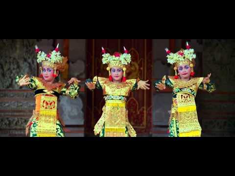 Balinese dancers from the film Samsara.