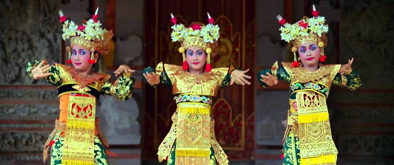 Balinese dancers from the film Samsara  YouTube