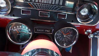 1965 Ford Mustang 4-Speed HURST 289 V8 in action