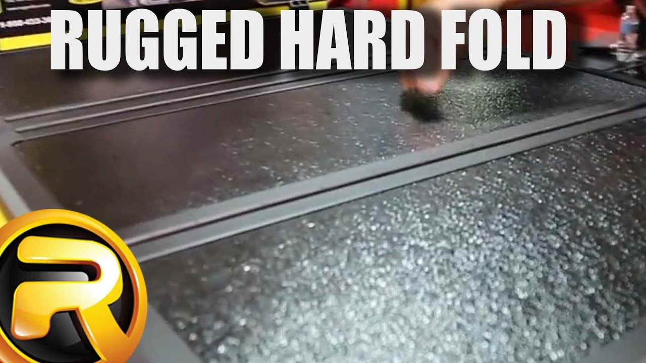 Rugged Liner Hard Tri Fold Tonneau Cover At Sema 2016