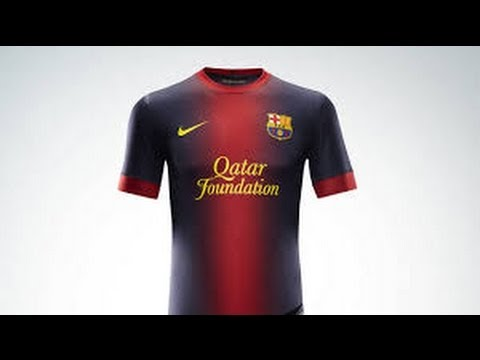 e3a57c386c6 FC Barcelona ~ NEW KIT 2012/2013 - YouTube