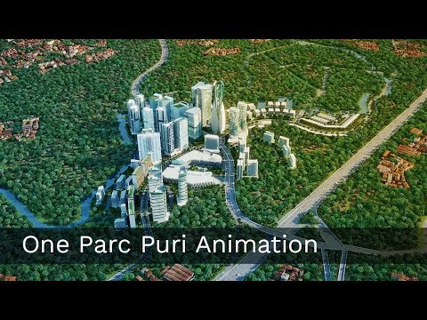 One Parc Puri - 3D Architectural Animation