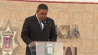 Palabras Mtro  Porfirio Javier Sánchez M  Secretario de Seguridad