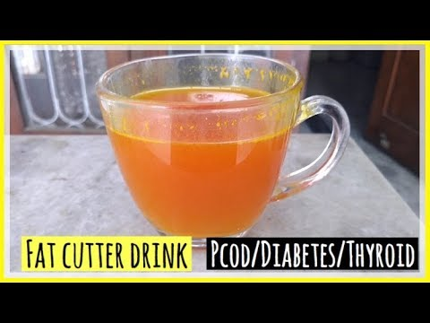 fat-cutter-drink- -pcod/pcos-weight-loss-tea- -turmeric-tea-for-weight-loss- -azra-khan-fitness