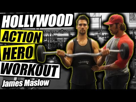 Hollywood Action Hero Workout | James Maslow & Mike O'Hearn