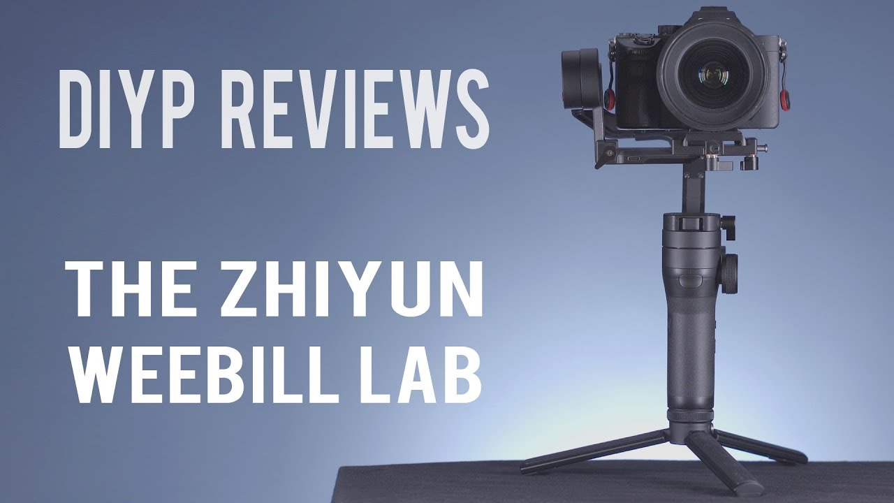 DIYP reviews the WEEBILL LAB, probably best gimbal for small