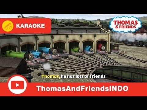 Thomas & Friends Indesia: Karaoke  Thomas Anthem