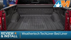2015-2017 F-150 Weathertech TechLiner Bed Liner Review & Install