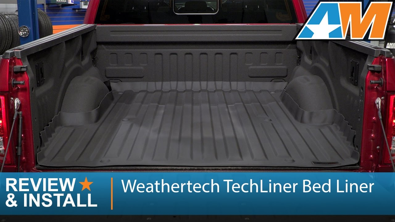 Ford Mustang 2017 >> 2015-2017 F-150 Weathertech TechLiner Bed Liner Review & Install - YouTube