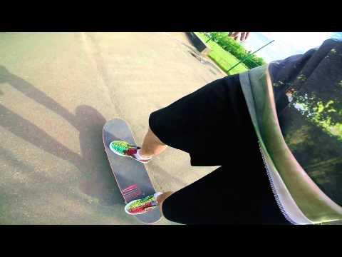 Вопрос: Как ездить на скейтборде с горы?