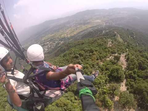 Paragliding at Bir Billing (Dharamshala)