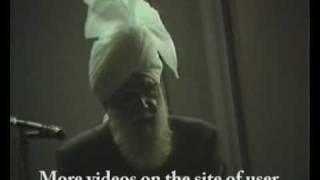 Hazrat Mirza NASIR Ahmed (rh) - Khutba Jumma Video 1/7