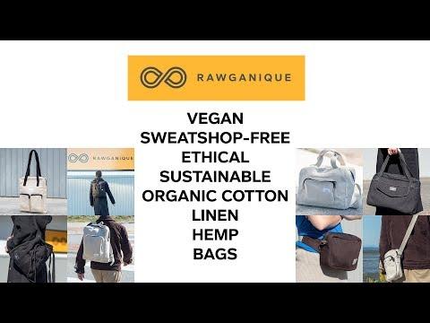Organic Cotton Linen Hemp Bags By Rawganique.co Since 1997 V3
