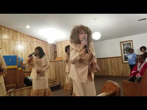 Anointed angels at chapel hill missionary Baptist church