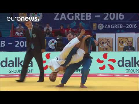 Judo Daily News Day 1 - Medal Matches Zagreb Grand Prix 2016