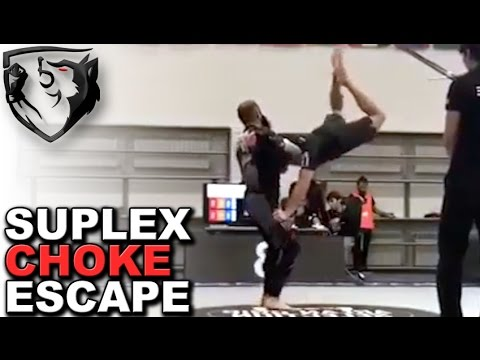 Ridiculous Move: Guillotine Choke Suplex Escape