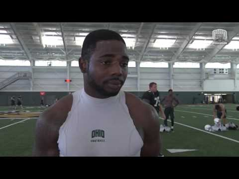 Ohio Football 2016: Blair Brown After Practice 86