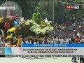 BT: Mga makukulay na float, nakahanda na para sa grand float parade bukas