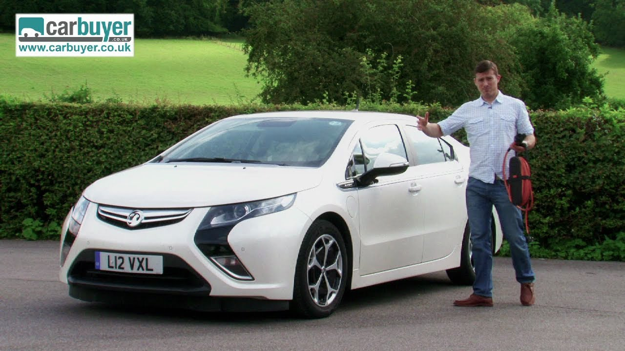 Vauxhall Ampera (Chevrolet Volt) hatchback review ...