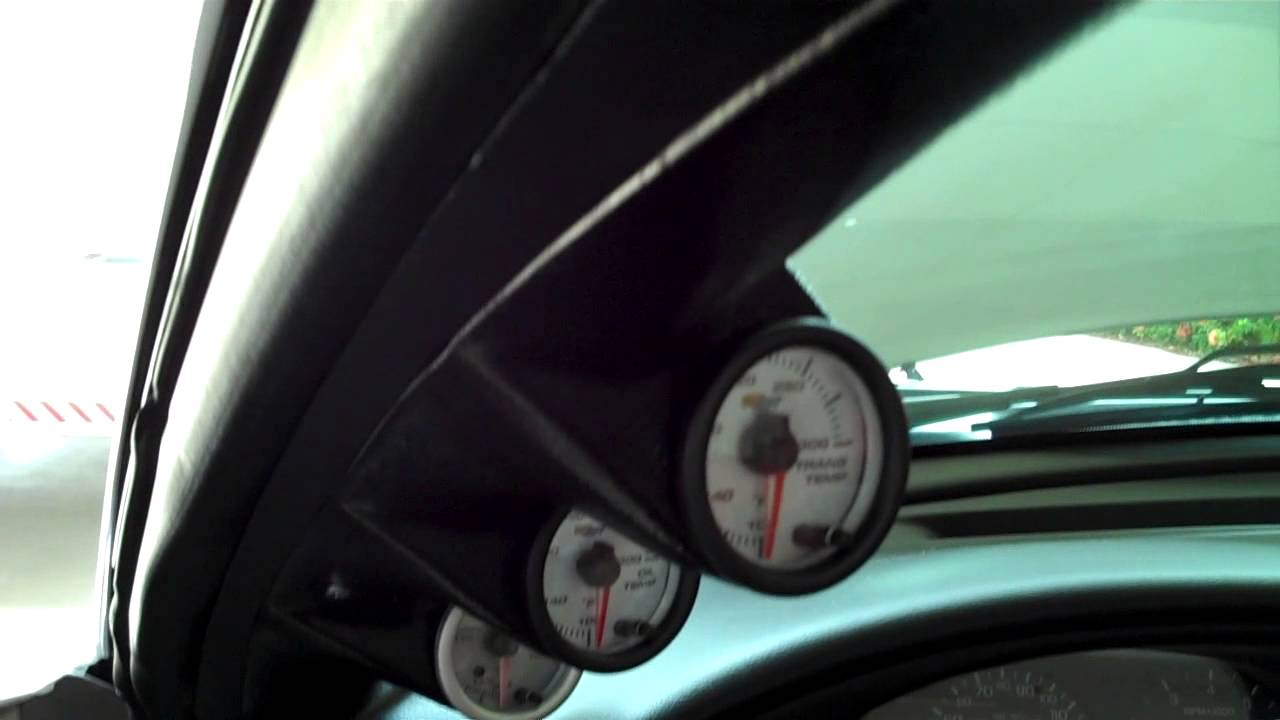 small resolution of glow shift gauge pack install mustang gt