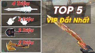 TOP 5 Cận Chiến VIP Đắt Đỏ Nhất Đột Kich - Rùa Ngáo