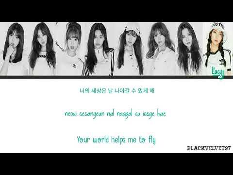 Weki Meki - My World Color Coded Lyrics HAN/ROM/ENG