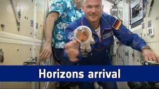 Horizons mission - docking and hatch opening highlights