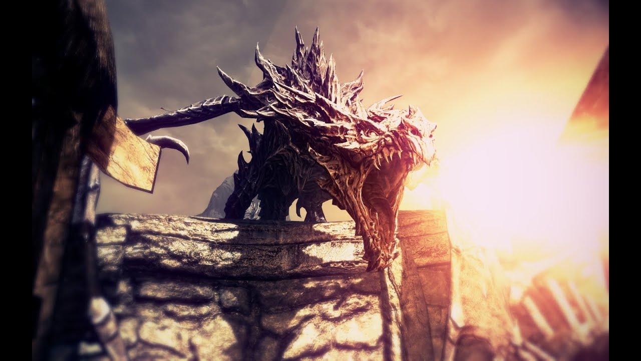 Skyrim Dragon: Ultra High Graphics + ENB Photoreal