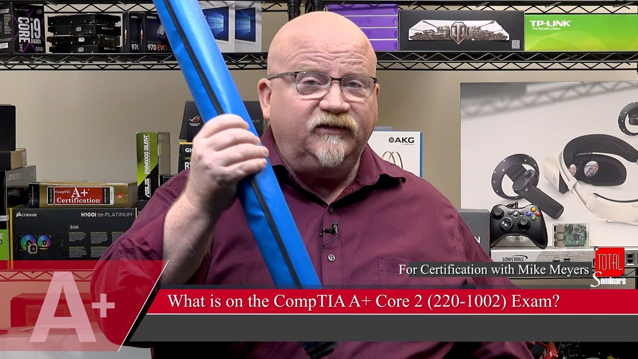 Mike Meyers What S On The Comptia A 2019 Core 2 Exam