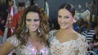 Rainhas de Bateria falam sobre a chegada de Claudia Leitte no Carnaval do Rio