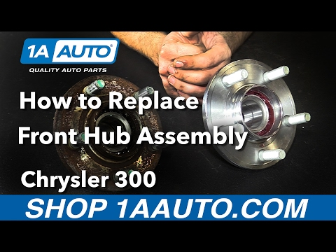 How to Replace Front Wheel Bearings 2006 Chrysler 300