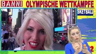 BASKETBALL #2 - Olympic Wettkampf - Exklusiv Original Banni Sport Fan Style Make-up Tutorial