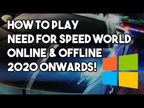 How To Play NFS World Online & Offline After Shutdown! | Classic NFS PC Install Tutorials