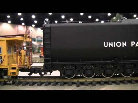 USA Trains – Big Boy @ the 2010 South East Garden Railroad Show – Video3