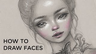 How to Draw Faces || 30 Days of Art Episode 9