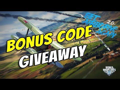 World of Warplanes || Bonus Code Giveaway!!!