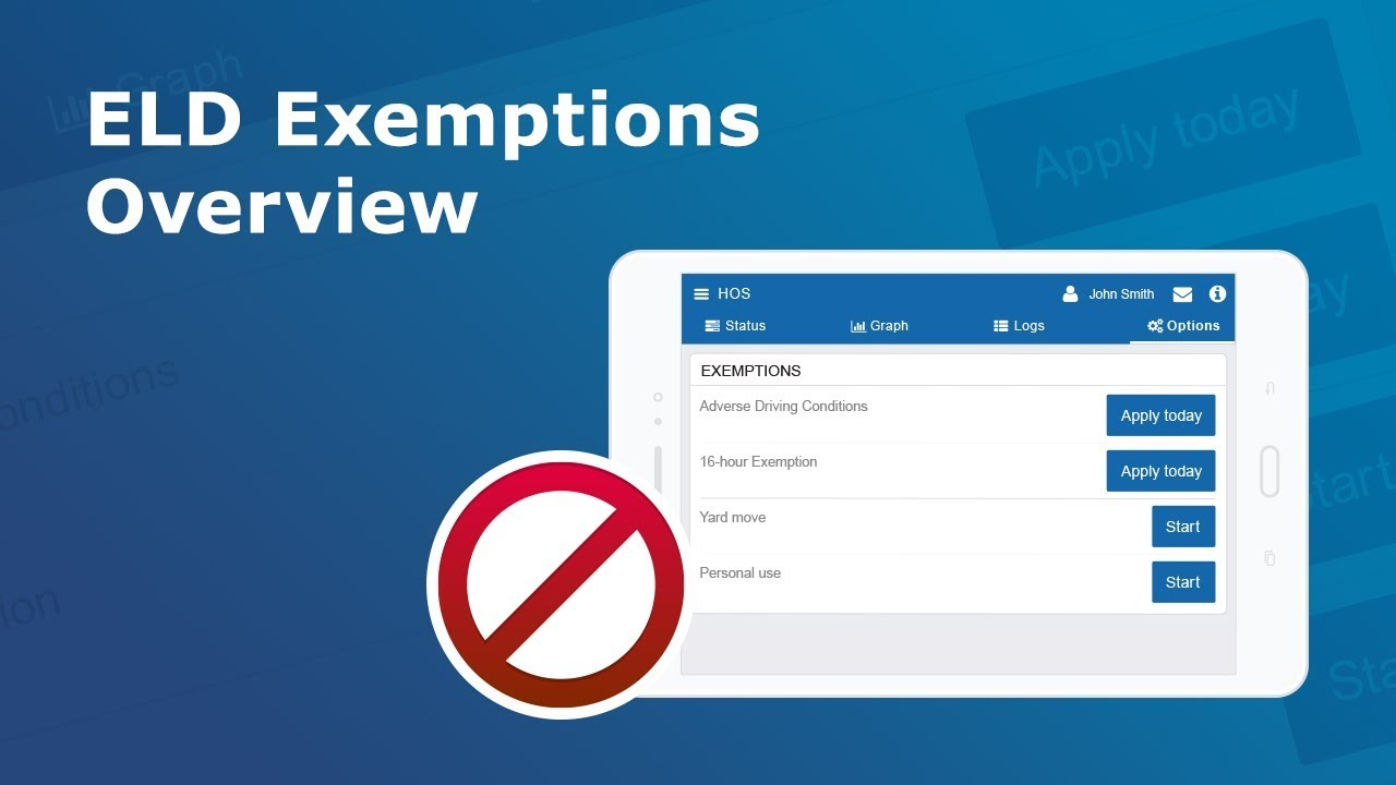 ELD Exemptions Overview