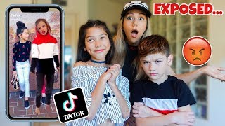 REACTING TO MY 10 YEAR OLD DAUGHTER'S TIK TOKS **GONE WRONG**