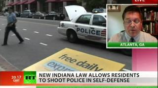 Indiana legalizes shooting cops?