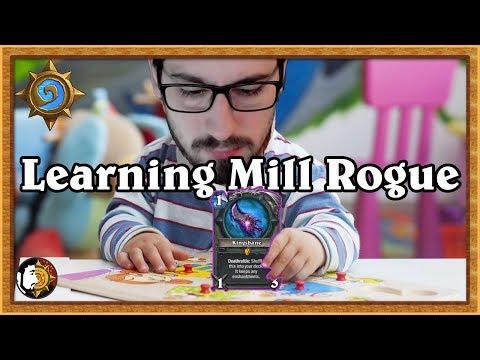 Hearthstone: Learning Kingsbane Mill Rogue