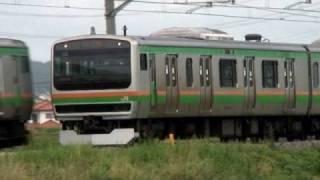 (HD) JR東日本一般型電車 E231系1000番台 高崎線編(電子警笛付き) thumbnail