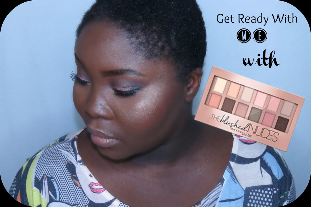 GRWM ft. MAYBELLINE THE NUDES PALETTE || Sian Marie - YouTube