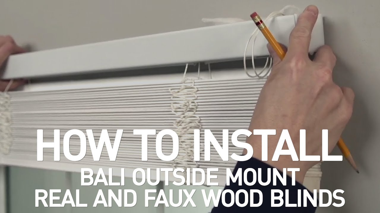 Everything You Need To Know About Outside Mount Window Treatments The Blinds Blog