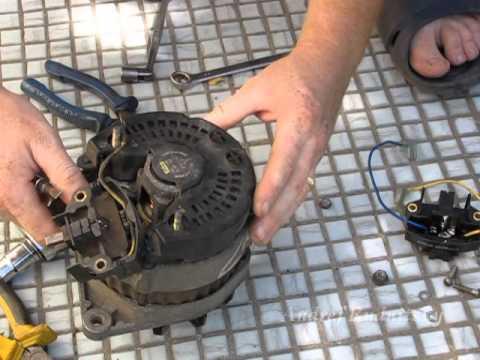 ремонт генератора рено логан 14 своими руками
