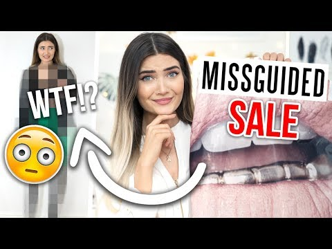 I BOUGHT THE CHEAPEST CLOTHING ITEMS ON MISSGUIDED *DISASTER*